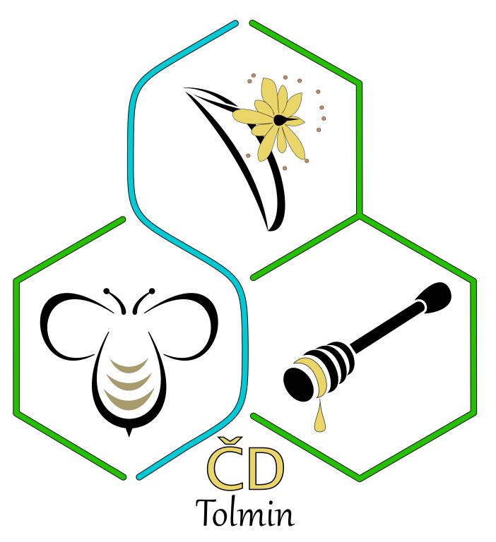 Čebelarsko društvo Tolmin Logo