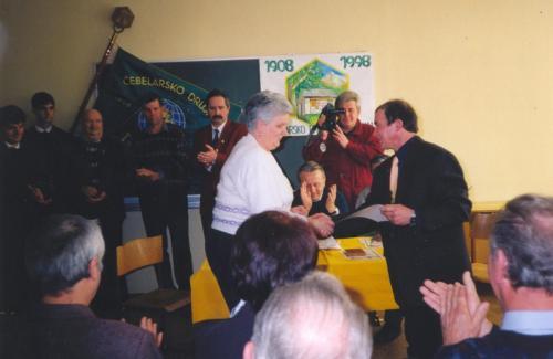 90 let ČD Tolmin